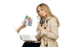 Internet-Geldkonzept Stockfoto