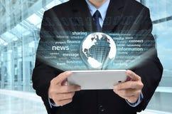 Internet-Geschäfts-Reihe Lizenzfreies Stockbild