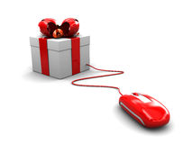 Internet gift Stock Images