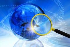 Internet/Globaal communicatie concept Stock Afbeeldingen