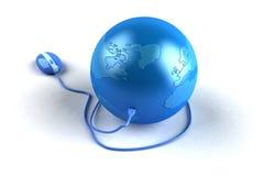 Internet global Imagen de archivo libre de regalías