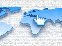 Internet - Global network Stock Photos