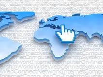 Internet - Global network Stock Photos