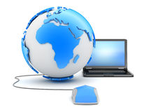 Internet - global network Royalty Free Stock Photos