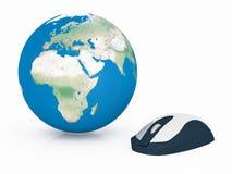 Internet globale Immagine Stock Libera da Diritti