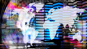 Internet.Globalization Royalty Free Stock Images