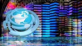 Internet.Globalization Royalty Free Stock Photography