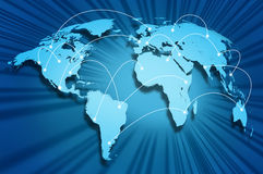 Internet globe Royalty Free Stock Image
