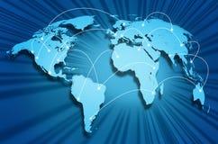 Internet globe Royalty Free Stock Image