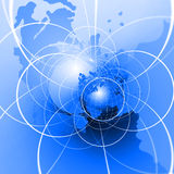 Internet Globe Royalty Free Stock Images