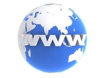 Internet and globe Stock Photos