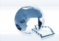 Internet Globe Stock Photography