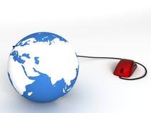 Internet globlization Stock Image