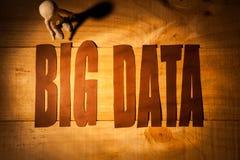 Internet-große Daten Lizenzfreie Stockfotografie