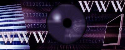 Internet header vector illustration