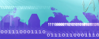 Internet header Stock Photo