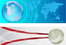 Internet headers Stock Image