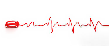 Internet Heartbeat Stock Photos