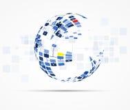 Internet-het concepten van de bedrijfs computer nieuwe technologie oplossingen
