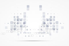 Internet-het concepten van de bedrijfs computer nieuwe technologie oplossingen Royalty-vrije Stock Afbeeldingen