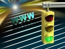 Internet highway Stock Photos