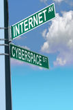 Internet Highway Stock Image