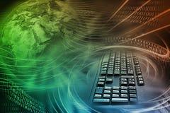 Internet-Hintergrund Stockfoto