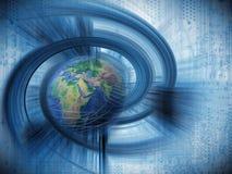 Internet-Hintergrund Lizenzfreies Stockfoto