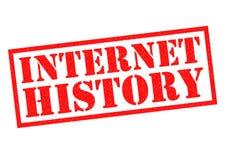 INTERNET HISTORY Stock Photo