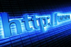 Internet Http Concept Royalty Free Stock Photo