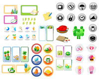 Internet icon buttons Stock Images