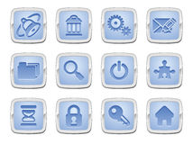 Internet icon set Royalty Free Stock Photo