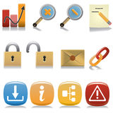 Internet_icon_set2 Photographie stock