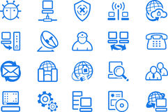 Internet icons �3 Royalty Free Stock Image
