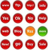 Internet icons. Stock Photo