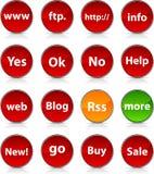 Internet  icons. Stock Photos