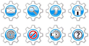 Internet Icons. Stock Photography