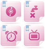 Internet Icons Royalty Free Stock Image