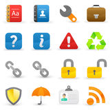 Internet icons Stock Photos