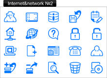 Internet icons (2) Stock Images