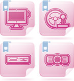 Internet Icons Stock Photo