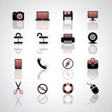 Internet icons Royalty Free Stock Photo