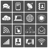 Internet icons Royalty Free Stock Photography
