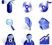 Free Internet Icons. Royalty Free Stock Photography - 4085677