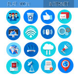 Internet Icons Collection Technology Set Royalty Free Stock Photography