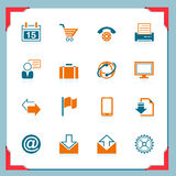 Internet icons | In a frame series Royalty Free Stock Images