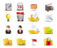 Internet icons Stock Image