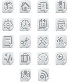 Internet Icons - papiro set #1 Royalty Free Stock Image