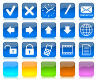 Internet icons series Royalty Free Stock Photo
