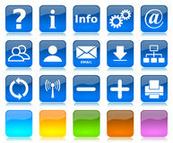 Internet icons series Stock Photography